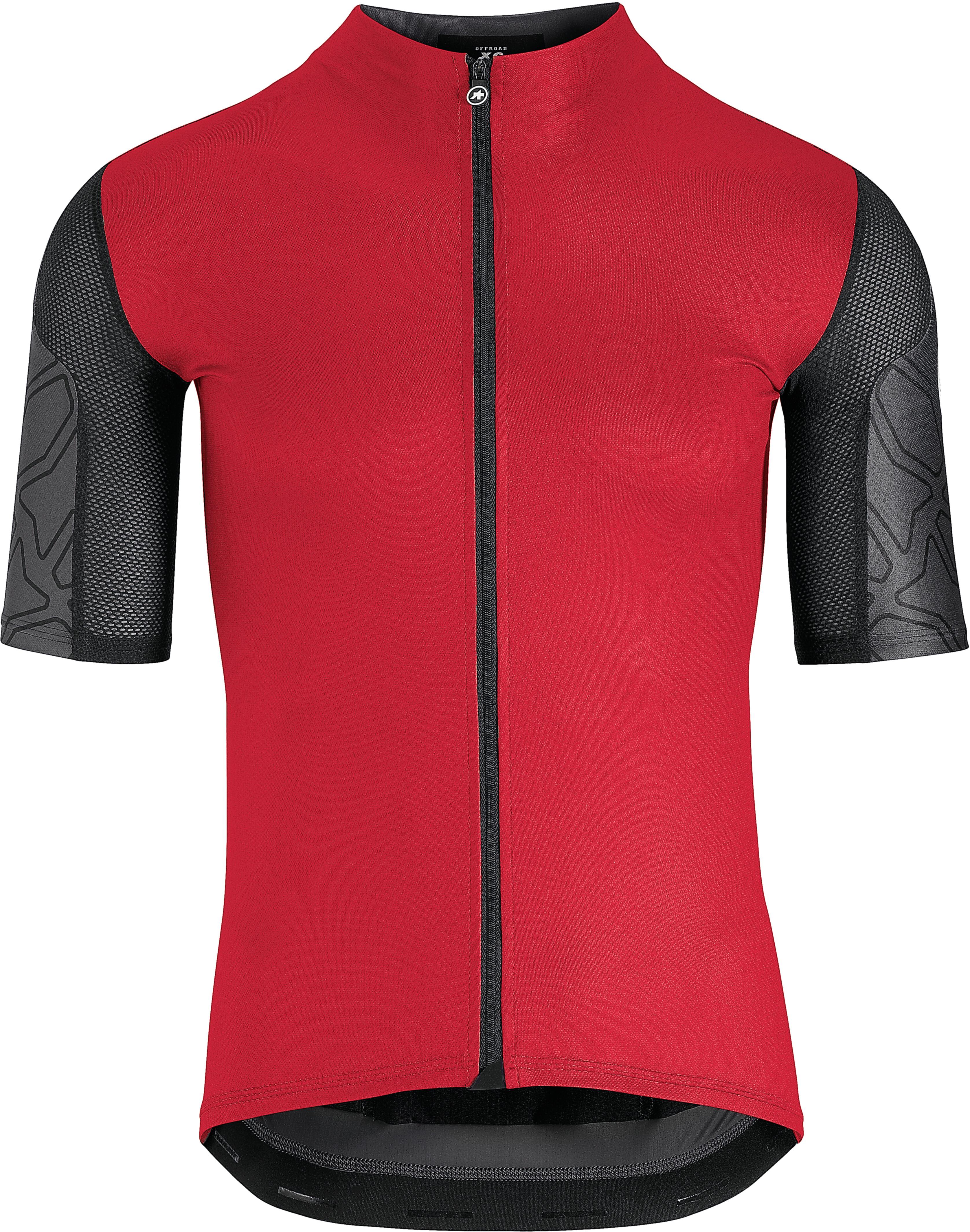 assos XC - Maillot manches courtes Homme - rouge - Boutique de vélos ... 4a5868dc79cf